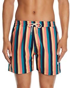 DUVIN - Disco Side-Stripe Swim Shorts