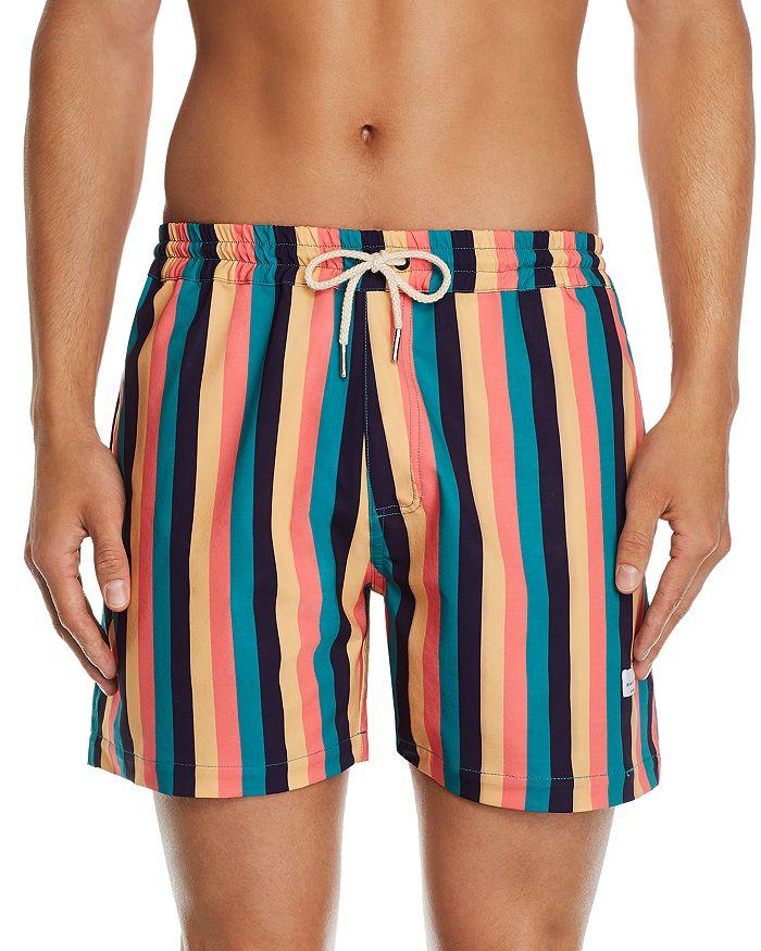 DUVIN - Boogie Striped Swim Shorts