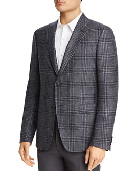 Z Zegna - Plaid Slim Fit Sport Coat