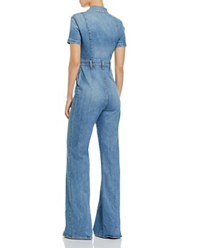 Alice and Olivia - Gorgeous Wide-Leg Denim Jumpsuit