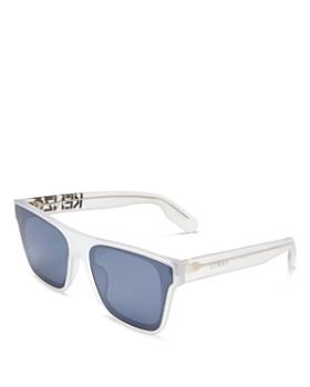 Kenzo - Unisex Rectangular Sunglasses, 63mm