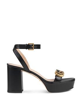 b445e162605a ... Gucci - Women s Marmont Double G Platform Sandals