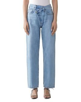 AGOLDE - Suburbia Criss-Cross High-Rise Jeans
