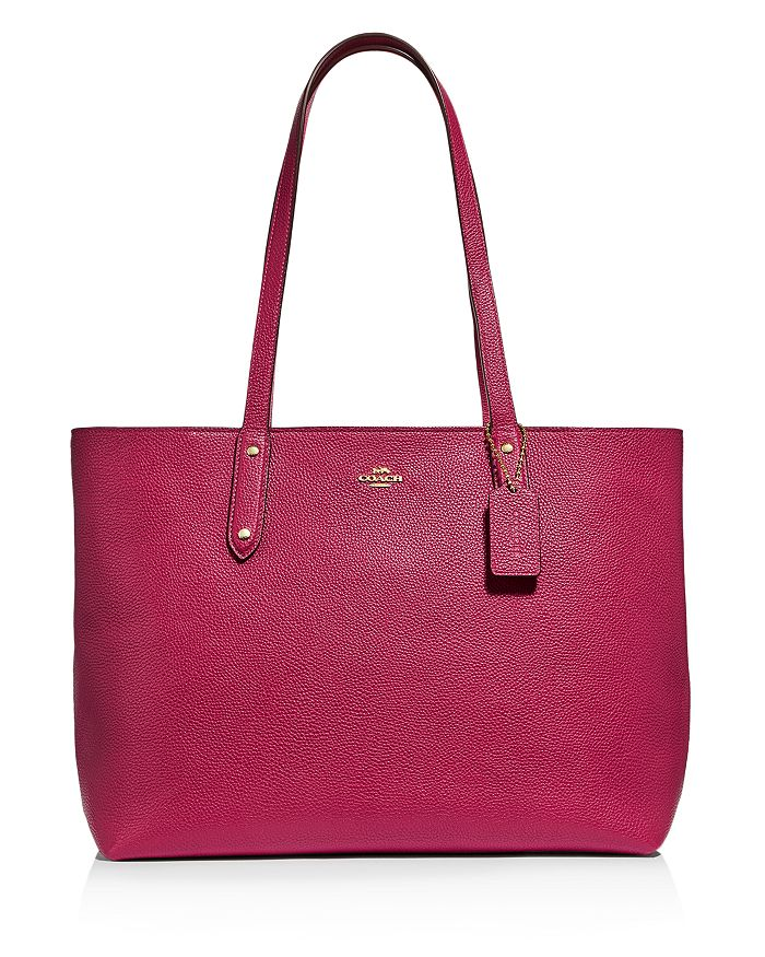 COACH - Central Leather Tote