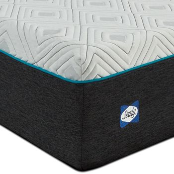 """Sealy Posturepedic - Sealy to Go 12"""" Plush Memory Foam Twin Mattress Only"""