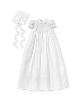 Kissy Kissy - Christening Gown & Bonnet Set - Baby