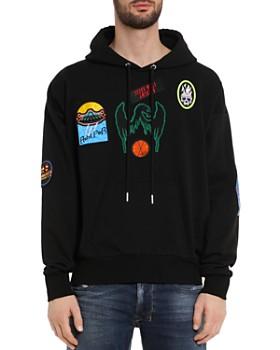 Diesel - Alby Patches Felpa Hooded Sweatshirt