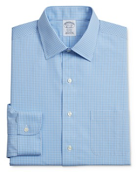 Brooks Brothers - Grid Plaid Classic Fit Dress Shirt