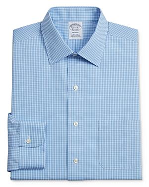 Grid Plaid Classic Fit Dress Shirt