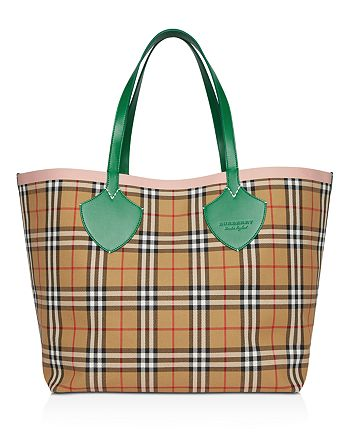 Burberry - Vintage Check Tote
