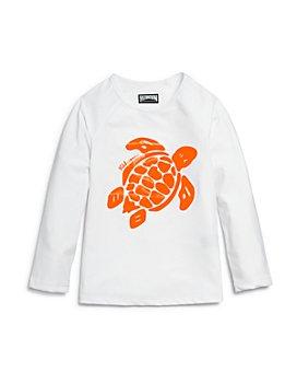 Vilebrequin - Boys' Glassy Gsy Turtle Graphic Rash Guard  - Little Kid, Big Kid