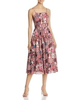 kate spade new york - Garden Posy Midi Dress
