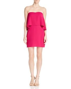 Amanda Uprichard - Topanga Popover Mini Dress