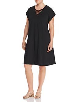 Lyssé Plus - Sia Lace-Up Dress