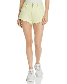 alexanderwang.t - Bite Cutoff Denim Shorts