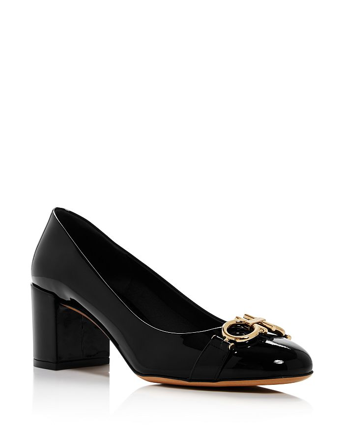 Salvatore Ferragamo - Women's Garda Patent Leather Pumps