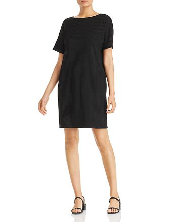 Eileen Fisher - Ribbed Knit Dress - 100% Exclusive