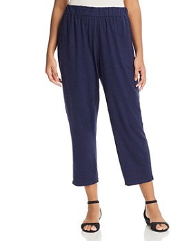 Eileen Fisher Plus - Knit Ankle Pants