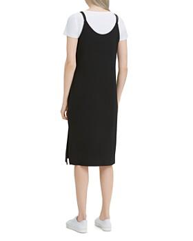 Calvin Klein - Combo Double-Strap Slip Dress
