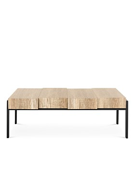 SAFAVIEH - Couture Alexander Rectangular Contemporary Rustic Coffee Table
