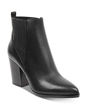 Marc Fisher LTD. - Women's Alva Stacked Heel Booties