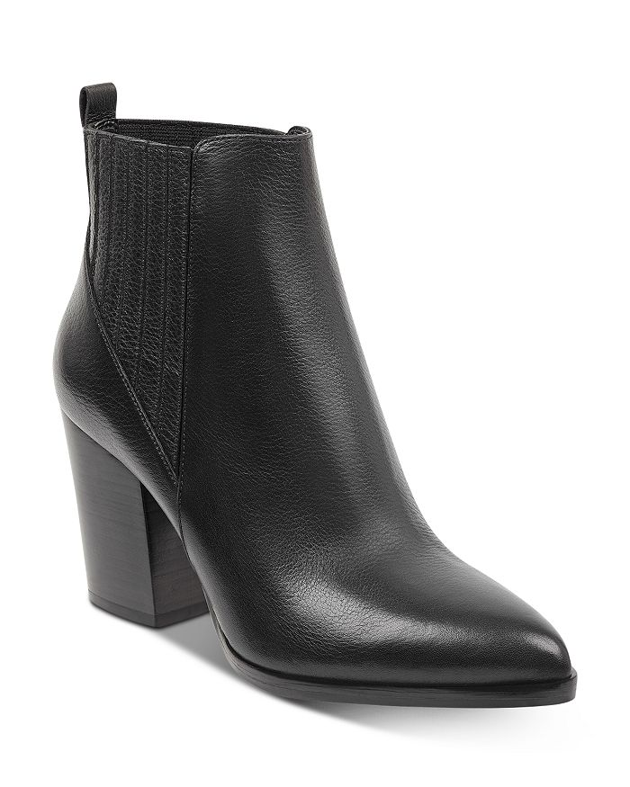 Marc Fisher LTD. - Women's Alva Stacked Heel Booties