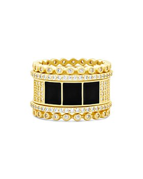 Freida Rothman - Harmony Ring in 14K Gold-Plated Sterling Silver