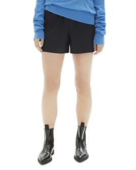 Helmut Lang - High-Waisted Cotton Twill Shorts