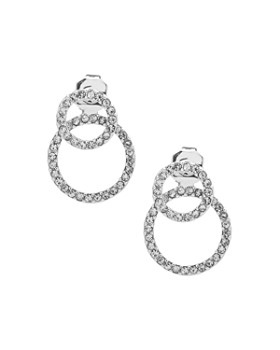 Ralph Lauren - Pavé Double Ring Earrings
