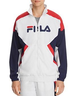 FILA - Olivero Color-Block Windbreaker Jacket