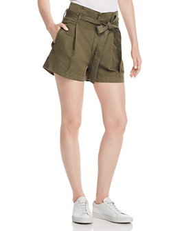 DL1961 - Camile Paper-Bag-Waisted Shorts