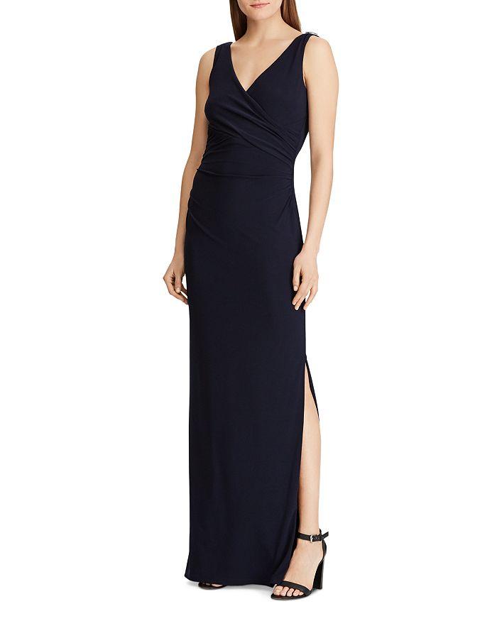 Ralph Lauren - Rhinestone-Embellished Jersey Gown