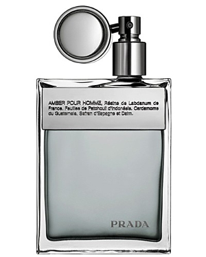 prada male prada eau de toilette spray 34 oz