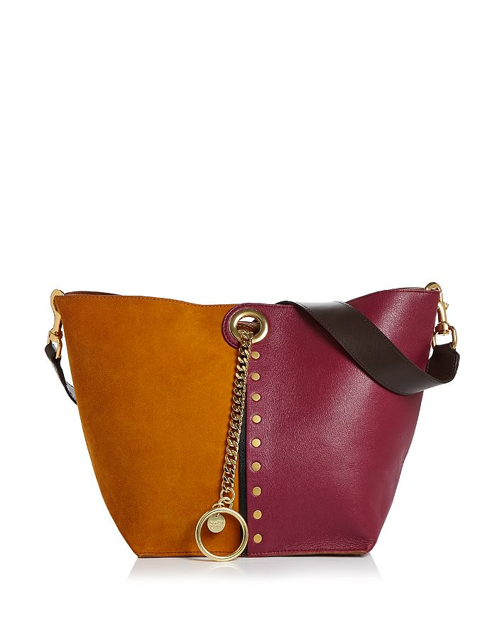 See by Chloé - Gaia Color-Block Shoulder Bag