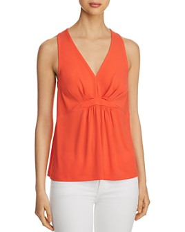Le Gali - Bianca Pleated-Front Tank - 100% Exclusive