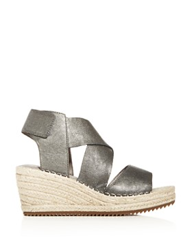 Eileen Fisher - Women's Willow Espadrille Platform Wedge Sandals