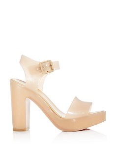 Melissa - Women's Mar Block-Heel Platform Sandals