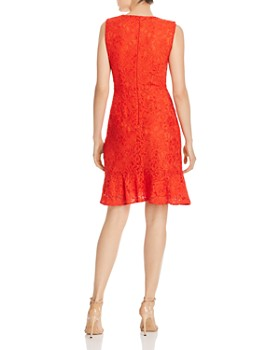 Sam Edelman - Lace Ruffled-Hem Dress