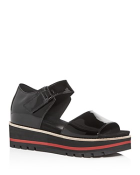 Eileen Fisher - Women's Luella Platform Wedge Sandals
