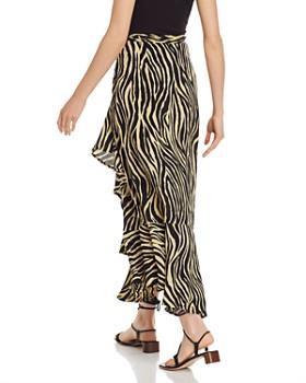 Faithfull the Brand - Jasper Zebra-Print Midi Skirt