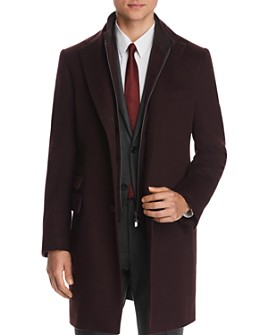 Corneliani - ID Bib-Front Topcoat - 100% Exclusive