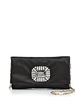 Jimmy Choo - Titania Satin Convertible Crossbody