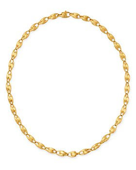 Marco Bicego - 18K Yellow Gold Lucia Small Chain Link Necklace, 17.75""
