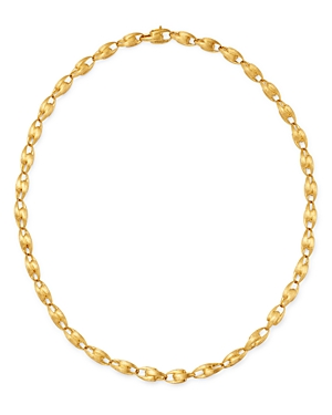 Marco Bicego 18K Yellow Gold Lucia Small Chain Link Necklace, 17.75-Jewelry & Accessories
