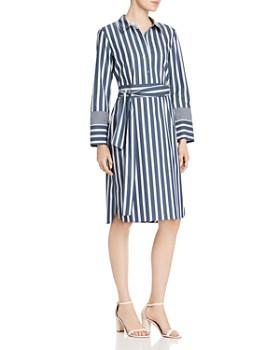 ab7febd41dc8 Lafayette 148 New York - Fabiola Striped Shirt Dress ...