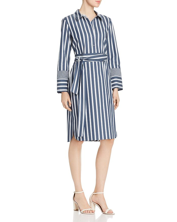 Lafayette 148 New York - Fabiola Striped Shirt Dress