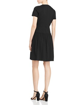 Elie Tahari - Jay Mixed-Media Dress