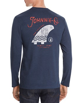 Johnnie-O - Long-Sleeve 2005 Fin Graphic Tee