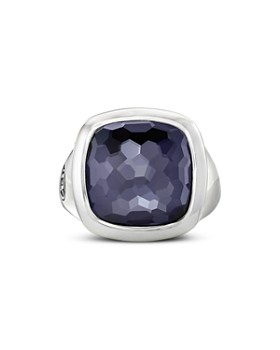 David Yurman - Sterling Silver Albion Black Orchid Ring