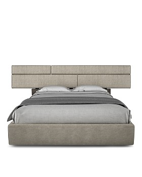 Huppé - Plank Upholstered Platform Bed Collection